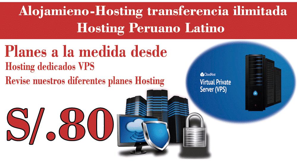 hosting-dedicado Paginas web Lima Economicas Dominios Hosting SEO 2020