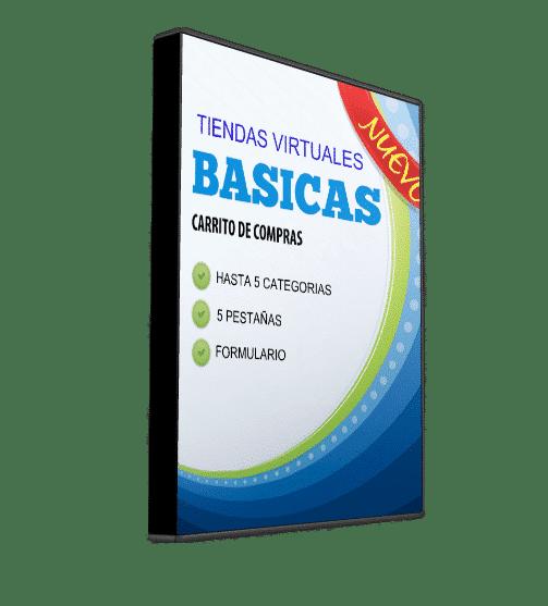 TIENDA-VIRTUAL-BASICA Paginas web Lima economicas Dominios Hosting  2020