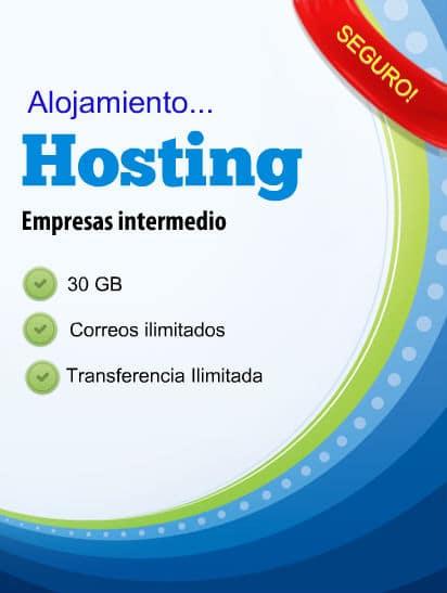 Hosting empresas intermedio